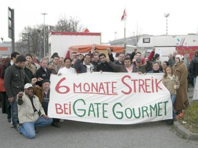 Kampf bei Gate-Gourmet