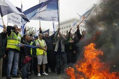 Streik Israel